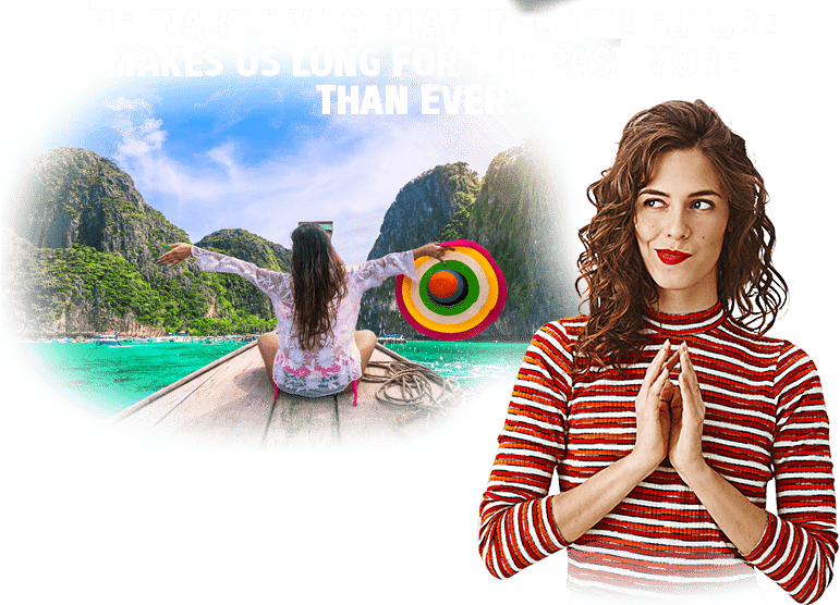 the inability to plan into the future makes us long for the past more than ever